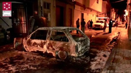 S'incendia un vehicle a Vila-real