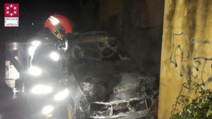 Incendiats dos vehicles a Vinaròs