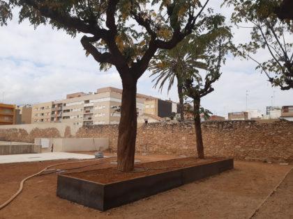 Les obres de rehabilitació del Jardí del Mucbe de Benicarló encaren la recta final
