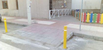 Benicàssim executa rebaixos de voreres per a continuar millorant l'accessibilitat