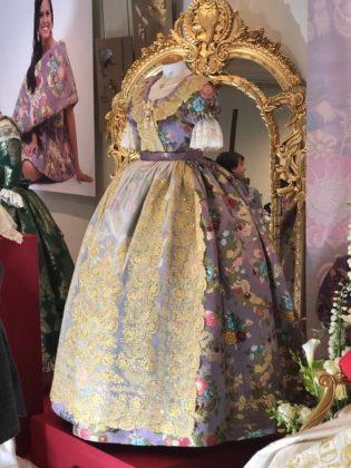 Les millors imatges de l'exposició de les Reines Falleres a Borriana