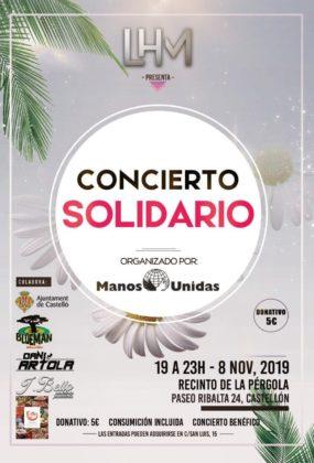 L'ONG Mans Unides organitza un concert solidari per celebrar el seu 60è aniversari