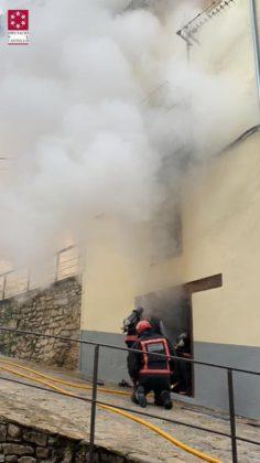 Incendi en un domicili a Morella