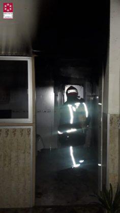 Es crema una casa a Borriana