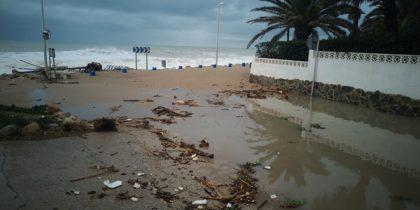 La pluja provoca inundacions a Benicarló