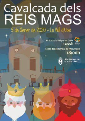 L'Ajuntament de la Vall d'Uixó presenta la programació dels Reis Mags