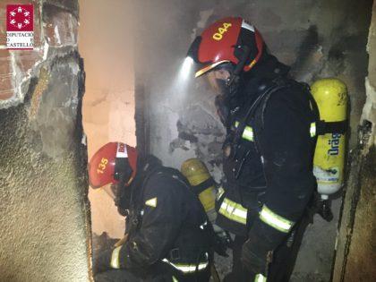 Intervenen els bombers en un incendi a Vila-real