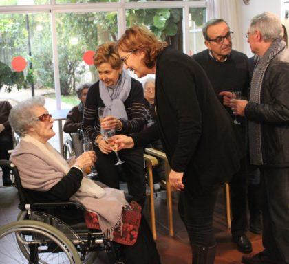 Borriana homenatja Mercedes Fayos Carbó en el seu centenari
