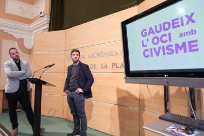 Castelló llança una campanya informativa per a reduir el soroll en la zona de les tasques
