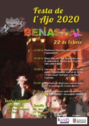 Benassal celebrarà la 'Festa de l'Ajo' este dissabte