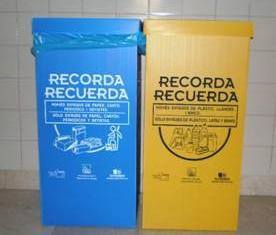 Nules instal·larà papereres de paper i d'envasos en diferents dependències municipals