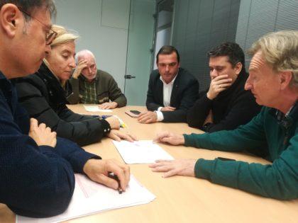 L'Ajuntament de Peníscola lluitarà a Madrid per la reparació del seu únic accés cap a la costa sud