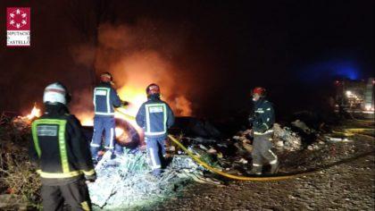 Incendi en un edifici a Benicarló