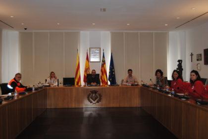 Vila-real avalua les mesures d'atenció a col·lectius vulnerables aplicades amb motiu de la crisi per la COVID-19