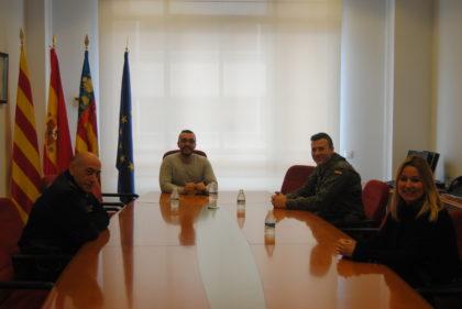 L'Exèrcit col·labora amb la Policia Local i Nacional en la vigilància de zones industrials i agrícoles durant l'estat d'alarma a Vila-real