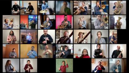 La Banda Municipal de Castelló estrena 'La Banda a Casa' per acompanyar la ciutadania durant el confinament