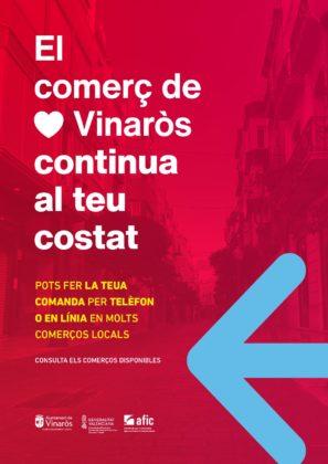 """Vinaròs posa en marxa la campanya """"El Comerç de Vinaròs continua al teu costat"""""""