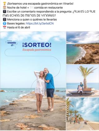 Vinaròs llança una entretinguda campanya promocional a les xarxes socials perquè els seus fans no obliden la seua destinació favorita durant el confinament