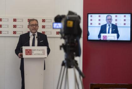 La Diputació de Castelló coordinarà l'adquisició d'un gran estoc de màscares dirigides als 135 municipis de la província