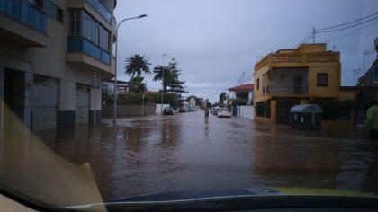 Les persones afectades per les inundacions de la zona marítima de Borriana tenen garantit el servei de recollida de voluminosos