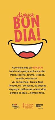 El Gabinet de Promoció del Valencià anima la ciutadania a aprendre valencià amb la UPV