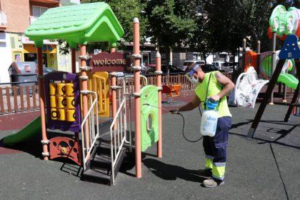 L'Ajuntament de Sagunt reobri hui els parcs infantils i els parcs amb instal·lacions biosaludables per a la tercera edat