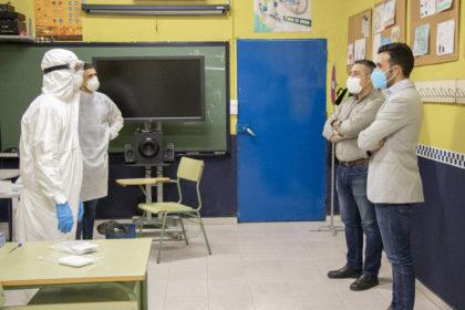 L'Ajuntament de Sagunt realitza les proves del coronavirus al personal que ha prestat servicis essencials durant la pandèmia