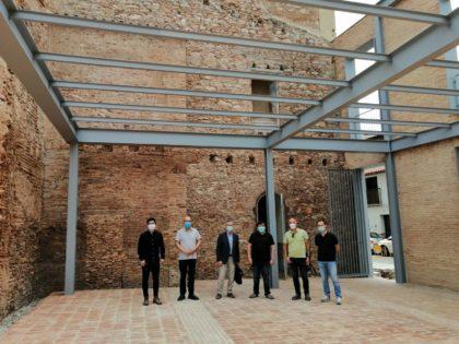Finalitzen les obres de la nova plaça de l'entorn de Sant Blai a Borriana