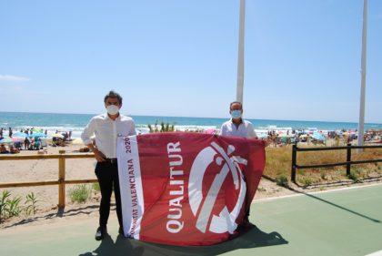 Totes les platges i cales d'Alcossebre reben els distintius de qualitat Qualitur