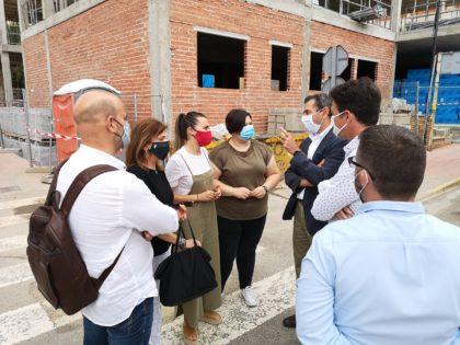 Les obres d'ampliació del Centre de Salut I de la Vall d'Uixó evolucionen favorablement