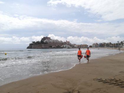 El servei de salvament i socorrisme en platges a Peníscola realitza 155 assistències el mes de juliol