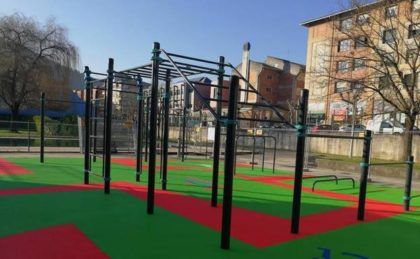 Borriana disposarà aviat del seu primer parc de cal·listènia en el parc de Novenes de Calatrava