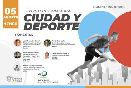 L'Ajuntament de Borriana participa en l'esdeveniment internacional 'Ciutat i Esport'