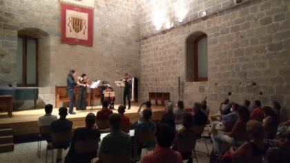 El jove talent de Quartet Gerhard obre el Cicle de Concerts de Música Clàssica de Peníscola