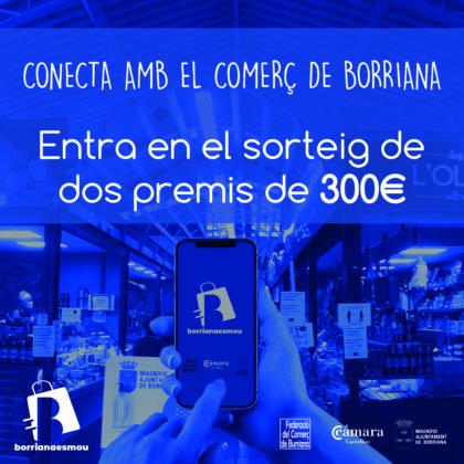 Borriana convoca un primer concurs de la seua app 'borrianaesmou' en els seus perfils d'Instagram i Facebook