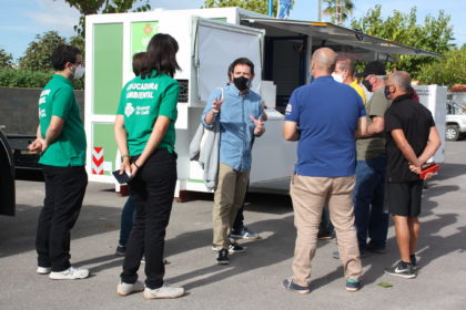 Castelló triplicarà la presència dels ecoparcs mòbils al carrer a partir de novembre