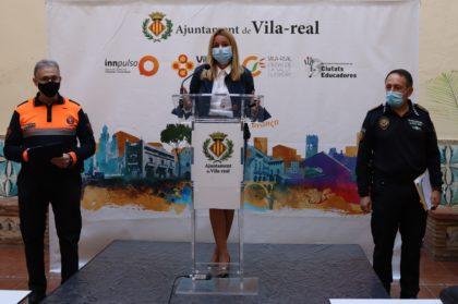 Vila-real encara la segona ona de la pandèmia amb prop de 800 denúncies des de març i 6.000 hores de treball de Protecció Civil
