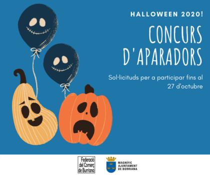 Borriana convoca el concurs d'aparadors 'Halloween 2020'