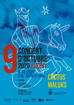 Cactus substituïx Pupil·les al cartell del Concert del 8 d'octubre a Alzira