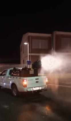 L'Ajuntament d'Orpesa reprén la desinfecció en carrers i espais públics de tot el municipi