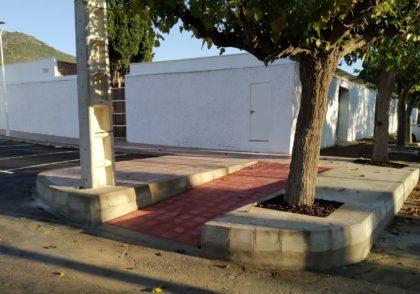 Benicàssim millora la mobilitat en l'accés a l'ampliació del cementeri