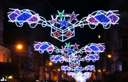 Alzira s'il·lumina un any més per Nadal