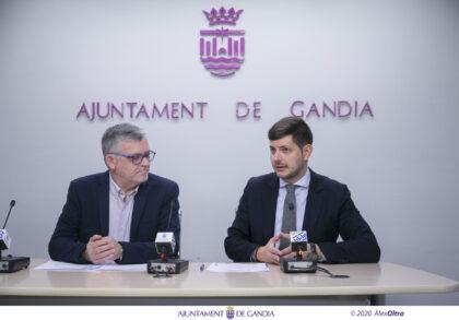 Gandia podrà reparar els desperfectes d'obra del reten de la Policia Local després d'arribar a un acord amb la constructora