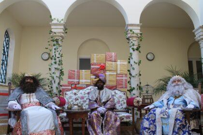 Els Reis Mags protagonitzen la segona part del vídeo 'El Nadal es viu a Benicàssim'