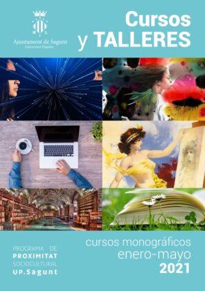 La Universitat Popular de Sagunt presenta el programa de cursos monogràfics, seminaris i xarrades per a 2021