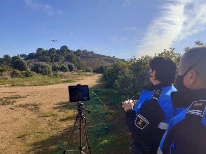 El dron del Consell Agrari de Sagunt reforça les labors de vigilància rural en campanya de recollida
