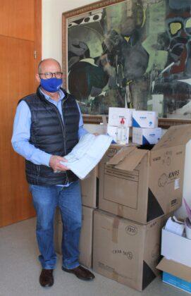 Borriana reparteix prop de 12.000 mascaretes en els centres educatius de Borriana