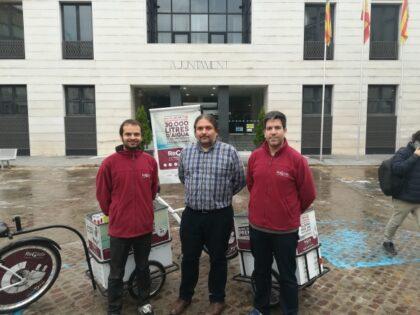 La campanya 'Recicla els teus aparells' desplaça a Borriana un punt net mòbil per a reciclar RAEE