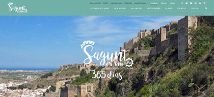 """La Delegació de Turisme presenta la nova web de Turisme on es mostra que """"Sagunt es Viu"""""""