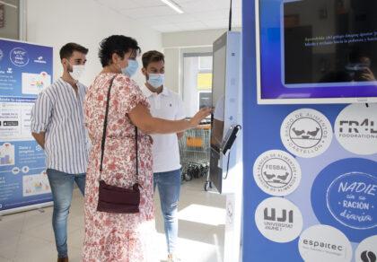 La Diputació de Castelló recolza l'extensió a tota la província del projecte 'Nadie Sin Su Ración Diaria' per a revolucionar la manera de donar aliments